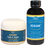 IOXAN and IOXAN Salt n' Soda, Natural Remedies for Healthy Gums and Teeth